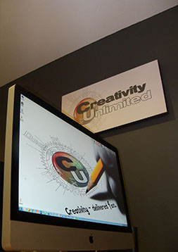 Creativity Unlimited Team delivering graphic services